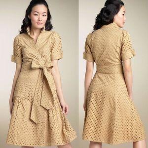Diane Von Furstenberg Wrap Dress, Golden Brown